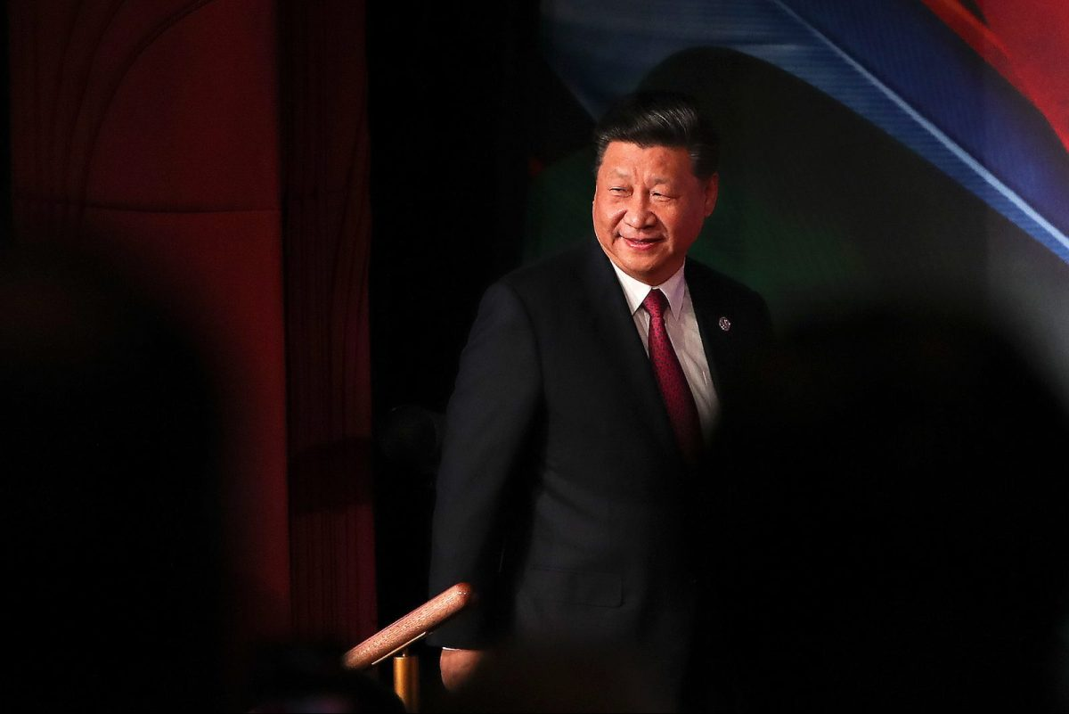China's President Xi Jinping arrives for the APEC CEO Summit 2018 in Port Moresby on November 17, 2018, a part of the Asia-Pacific Economic Cooperation (APEC) Summit. (Photo by FAZRY ISMAIL / POOL / AFP)