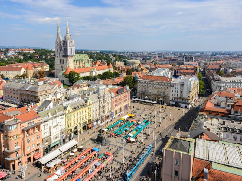 Zagreb, the capital of Croatia. Photo: Wikimedia Commons
