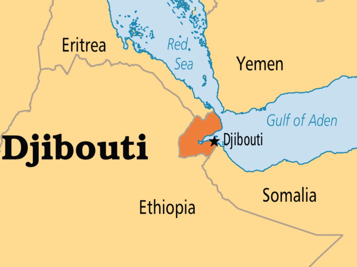 Djibouti hosts a growing number of foreign military bases. Map: Wikimedia