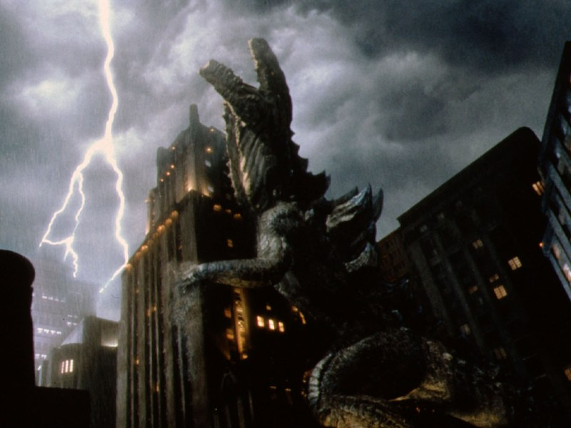 Concerns are growing that President Donald Trump's meeting with Xi Jinping at the G20 could resemble a Godzilla movie. Photo: Collection Christophell© Centropolis Film Productions/Fried Films