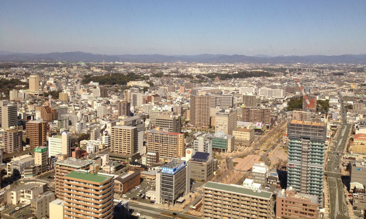 Hamamatsu City in Shizuoka Prefecture, Japan. Photo: Wikimedia Commons