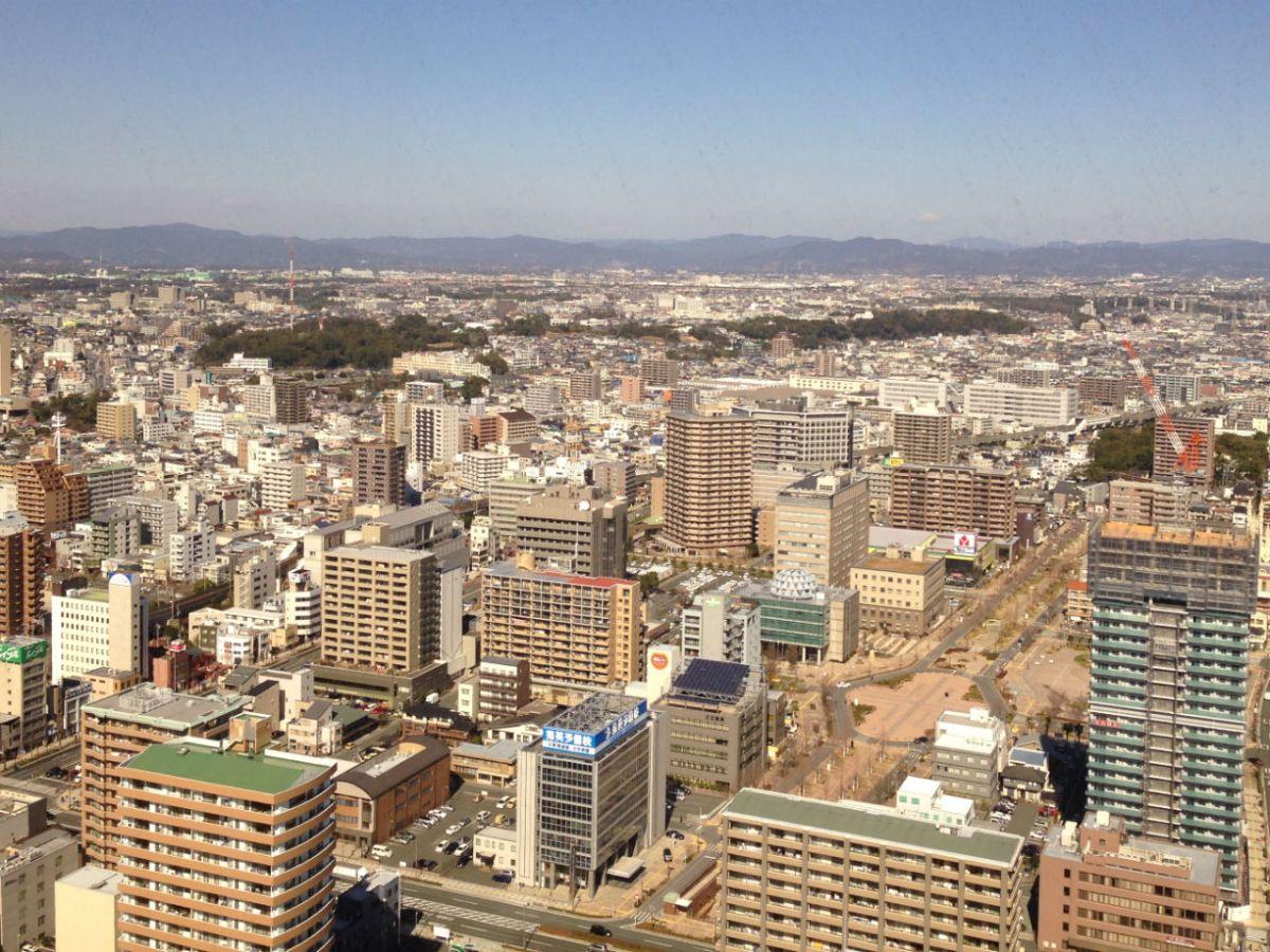 Hamamatsu City in Shizuoka Prefecture, Japan. Photo: Wikimedia Commons