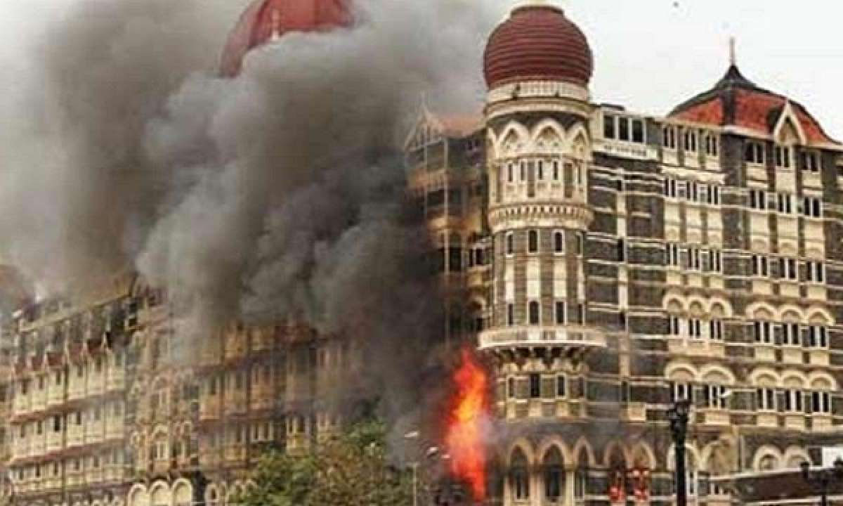 Pakistan-based terrorists attacked the Taj Hotel in Mumbai on November 26, 2008, leading to a three-day battle that killed over 160 people. Photo: YouTube screen grab