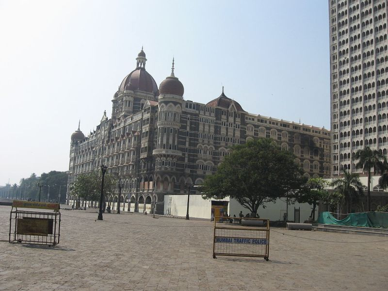 The Taj Hotel, Mumbai was restored after the attack by Pakistani terrorists on November 26, 2008. Photo: Wikimedia Commons