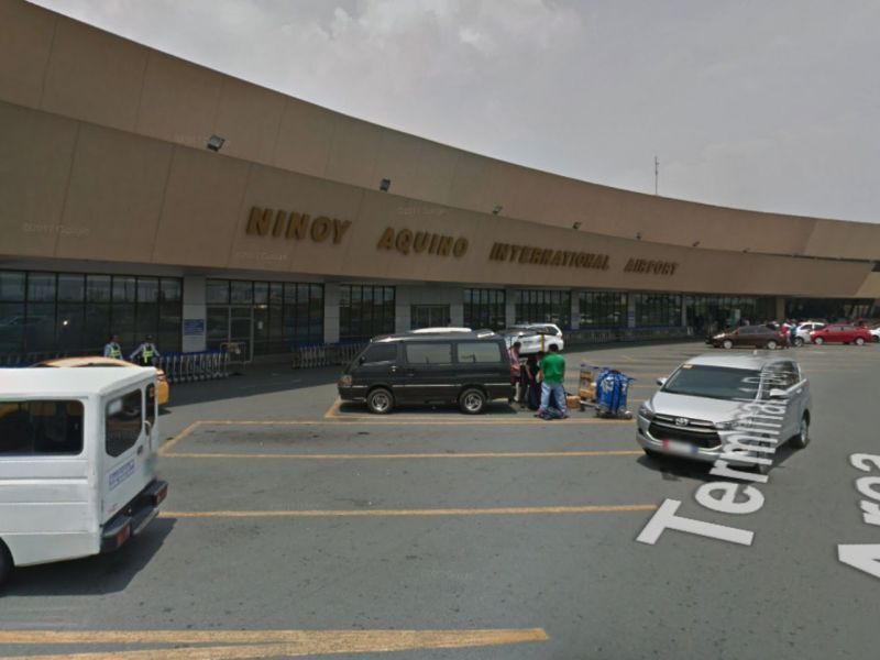 Ninoy Aquino International Airport Terminal 1 in Manila, Philippines. Photo: Google Maps