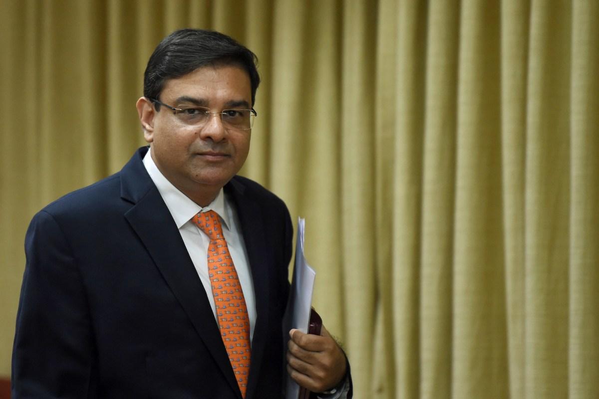Reserve Bank of India governor Urjit Patel.  Photo: AFP/Punit Paranjpe