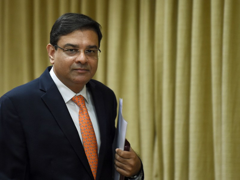 Reserve Bank of India governor Urjit Patel.  Photo: AFP/Punit Paranjpe