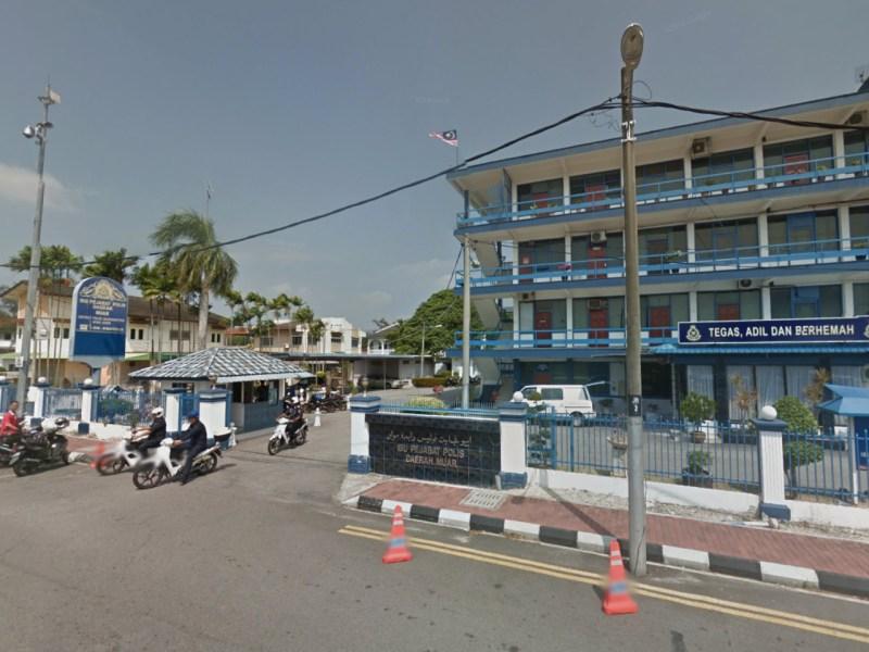 Muar Police Headquarters in Johor, Malaysia. Photo: Google Maps