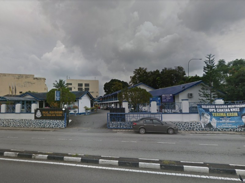 Rahang police station in Seremban in Malaysia. Photo: Google Maps