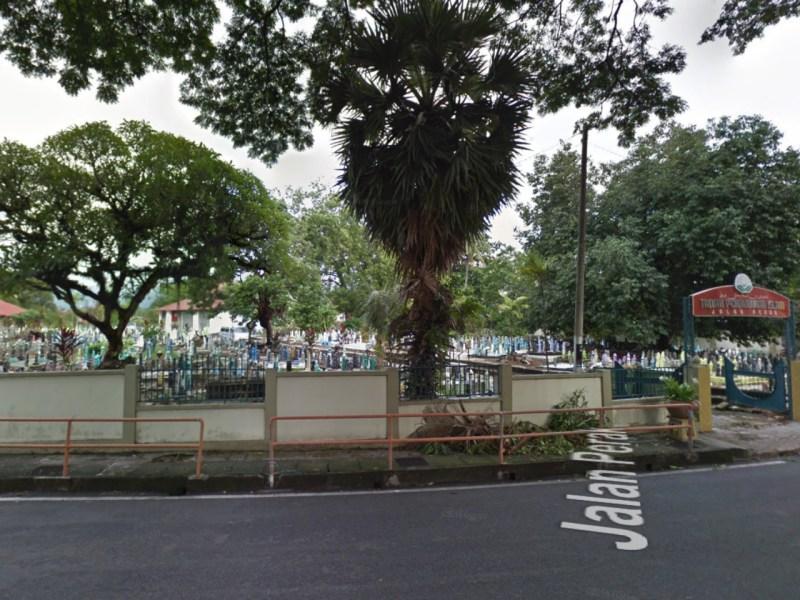 Perak Road Muslims Burial Ground, Malaysia. Photo: Google Maps