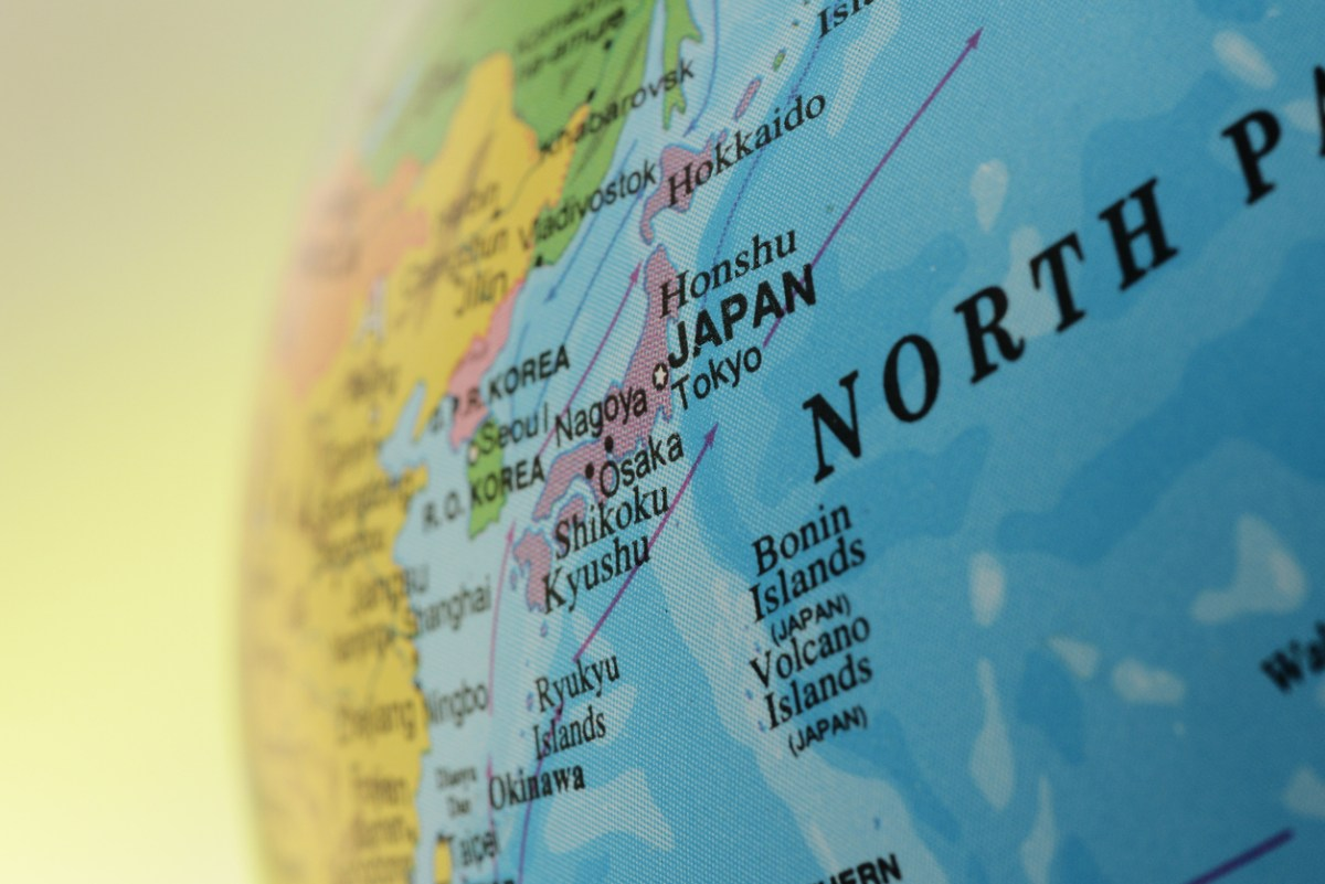 Map of Japan: iStock