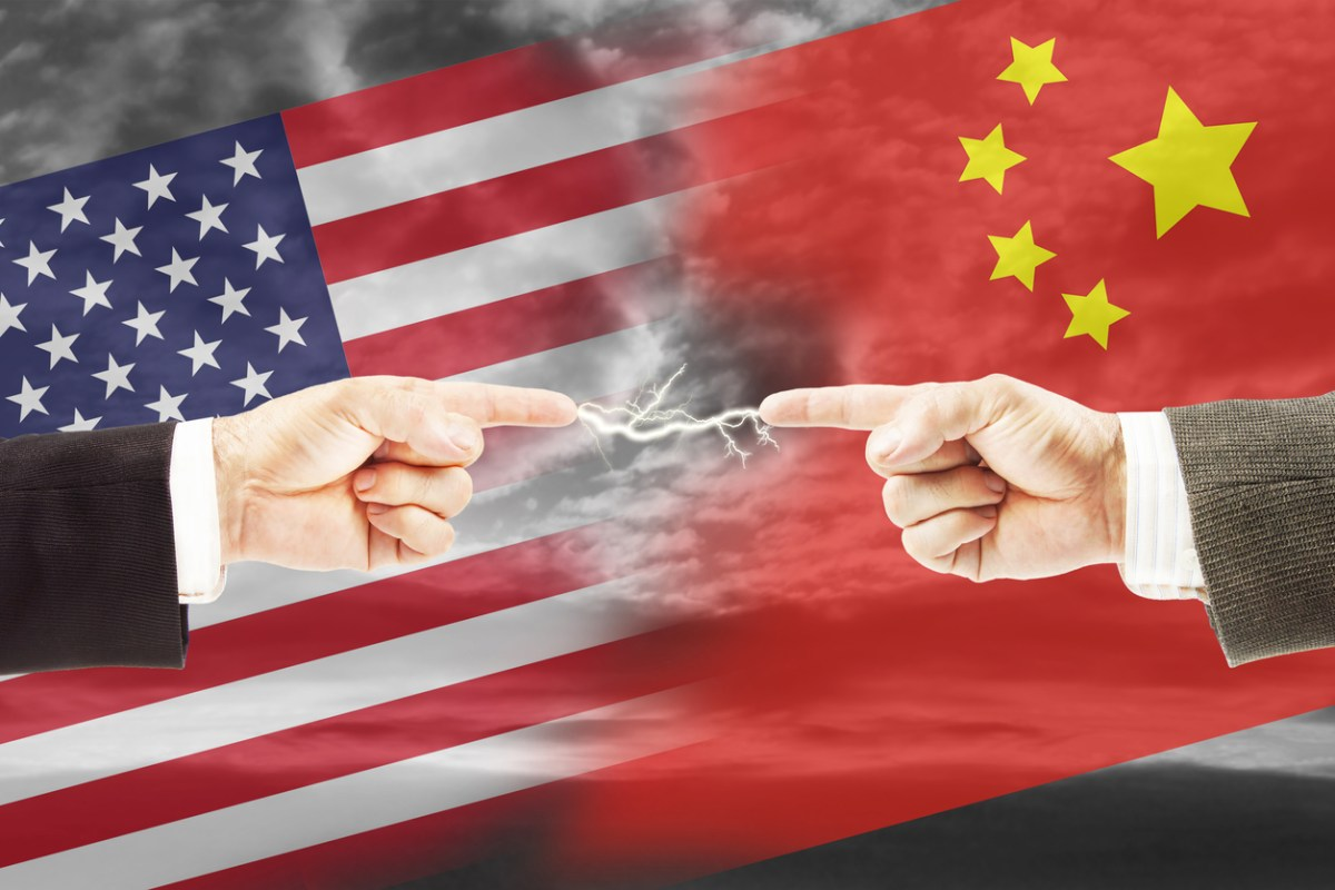 The US and China have conflicting worldviews. Image: iStock