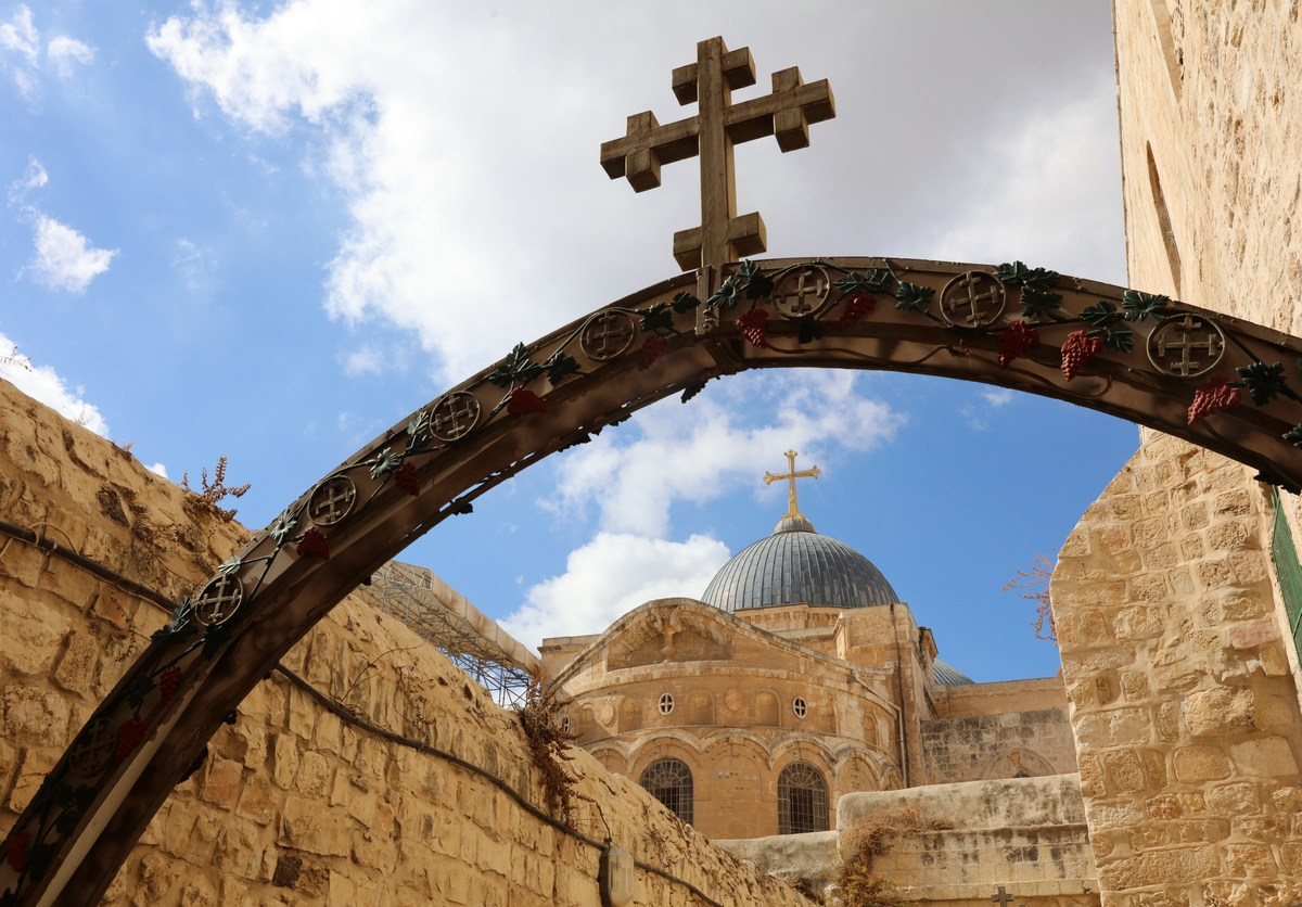 The iconic Church of the Holy Sepulchre in Jerusalem. Catholic clerics in the city are deeply concerned about a new law that gives Jews a special status. Photo: iStock