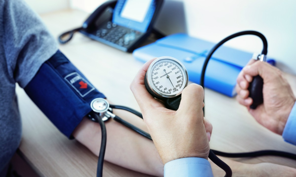 High blood pressure is a key indicator of hypertension. Photo: iStock.