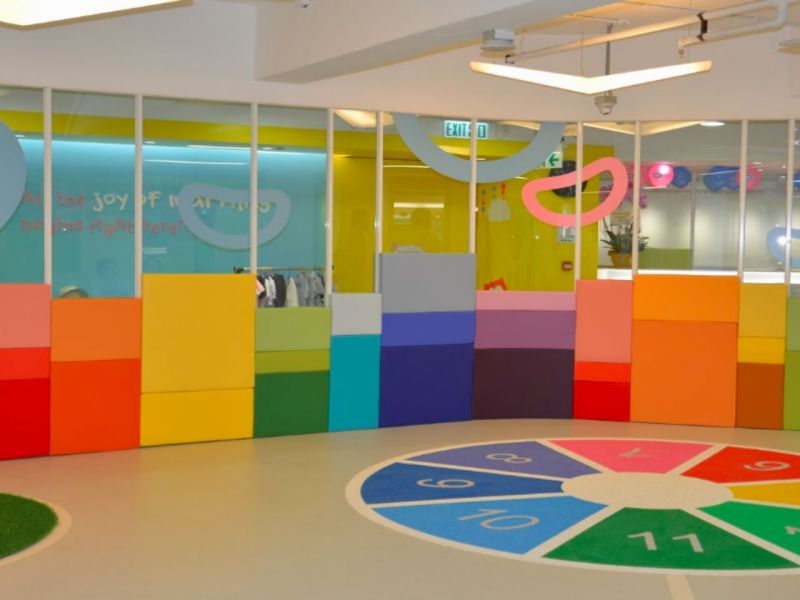 The kindergarten in Tsuen Wan, the New Territories Photo: Google Maps
