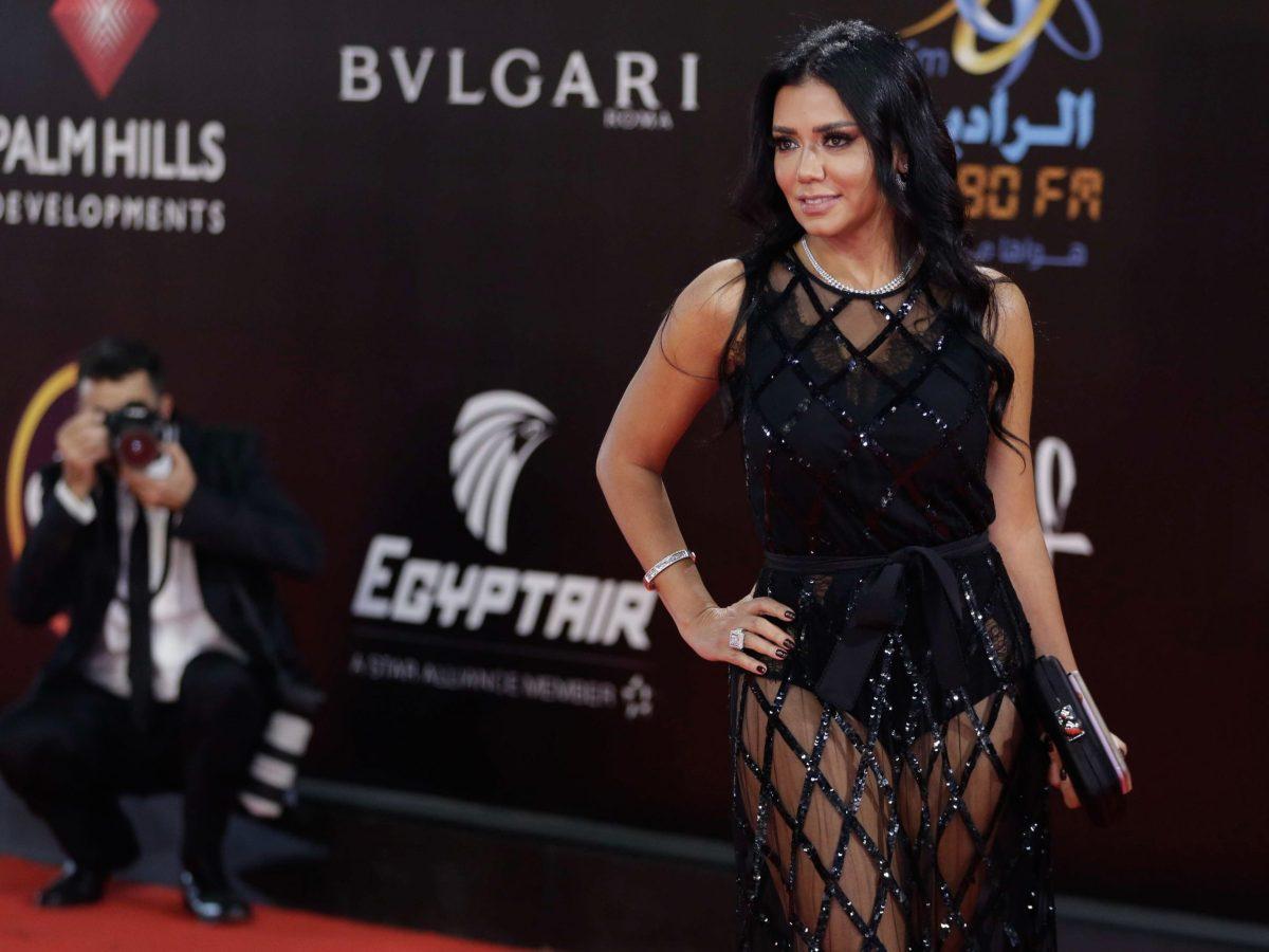الممثلة المصرية رانيا يوسف. صورة: سهيل صالح  ا ف ب