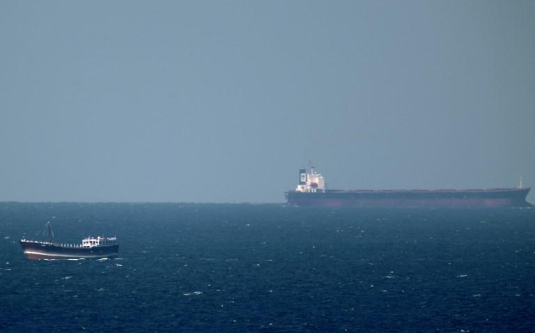 An oil tanker cruises towards the Strait of Hormuz. Photo: AFP/Marwan Naamani