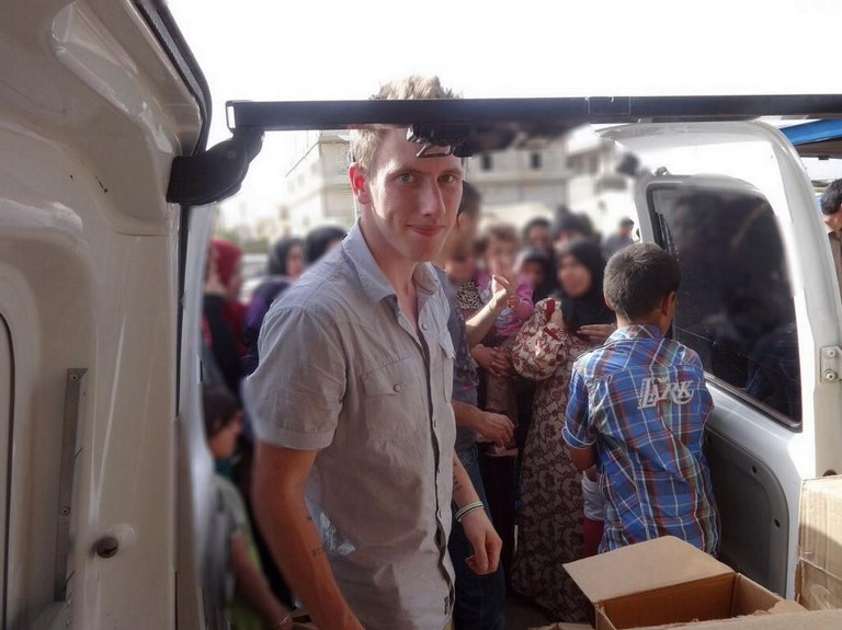 American aid worker Peter Kassig was executed by ISIS in Syria in 2014. Photo: AFP