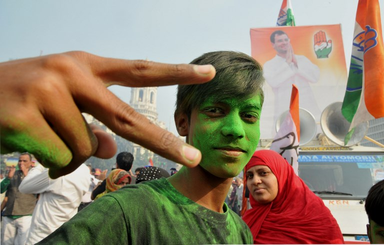 Ex-Congress leader Ajit Jogi's new party Janata Congress Chhattisgarh may have had a greater role in the outcome of the state election than was reflected in their seat tally in Chhattisgarh, India. Photo: AFP/Debajyoti Chakraborty/NurPhoto