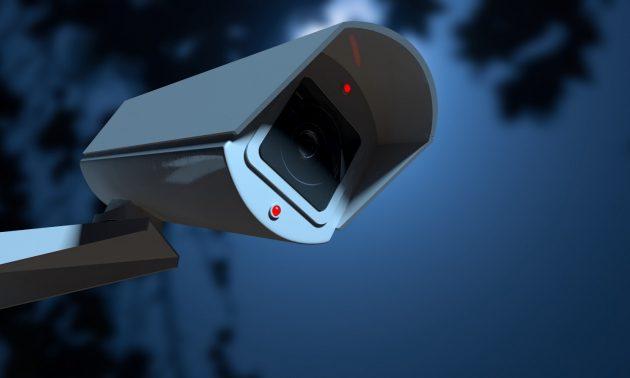 上海有50萬台閉路電視攝錄機和傳感器在市內運作。相片:Weibo