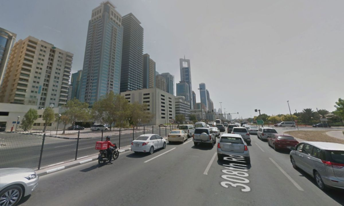 Al Satwa, Dubai. Photo: Google Maps
