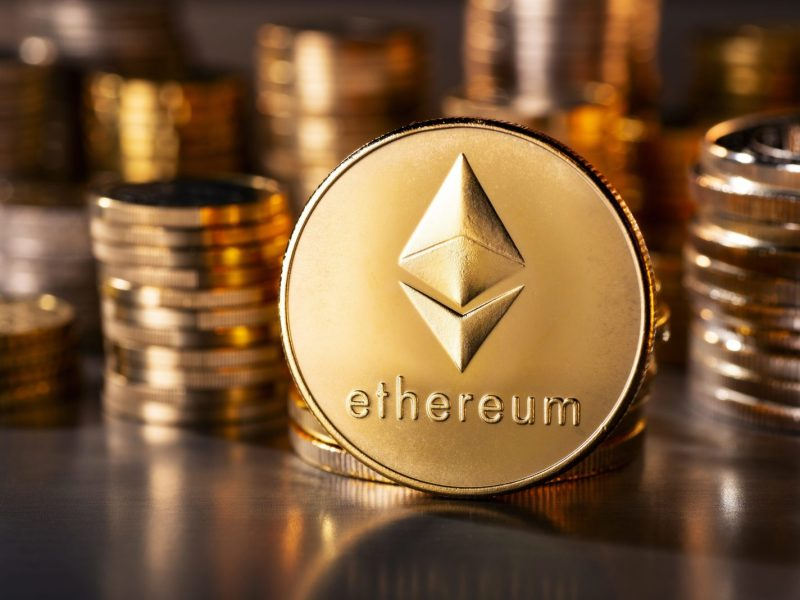 Crypto-currency coin Ethereum, like many others, has had its ups and downs. Photo: AFP