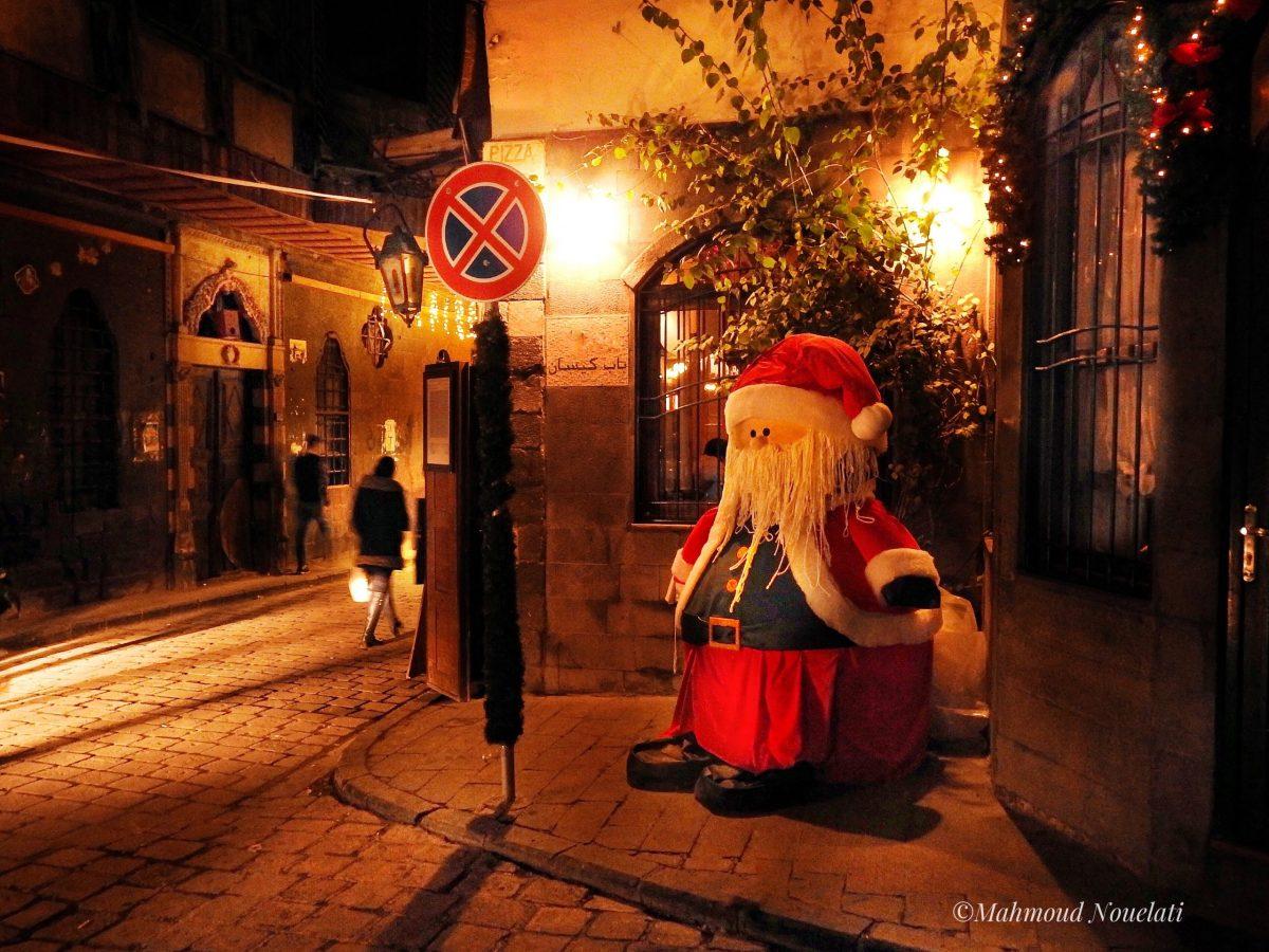 الحي المسيحي بدمشق في عيد الميلاد المجيد. صورة: Mahmoud Nouelati