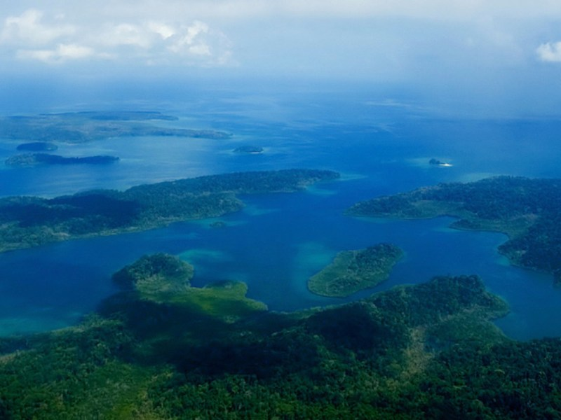 An aerial view of India's Andaman islands. Photo: Facebook