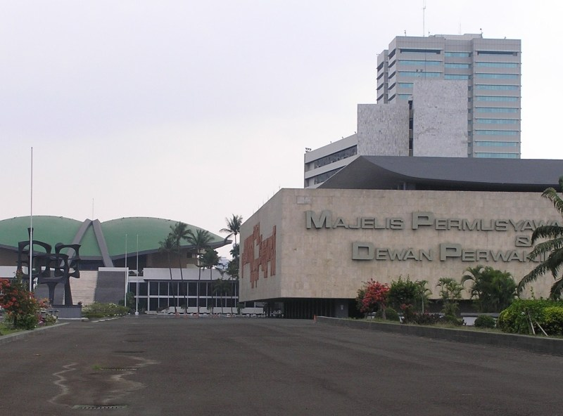 The building complex in Jakarta where Indonesia's People's Representative Council holds its plenary sessions. Photo: Wikipedia