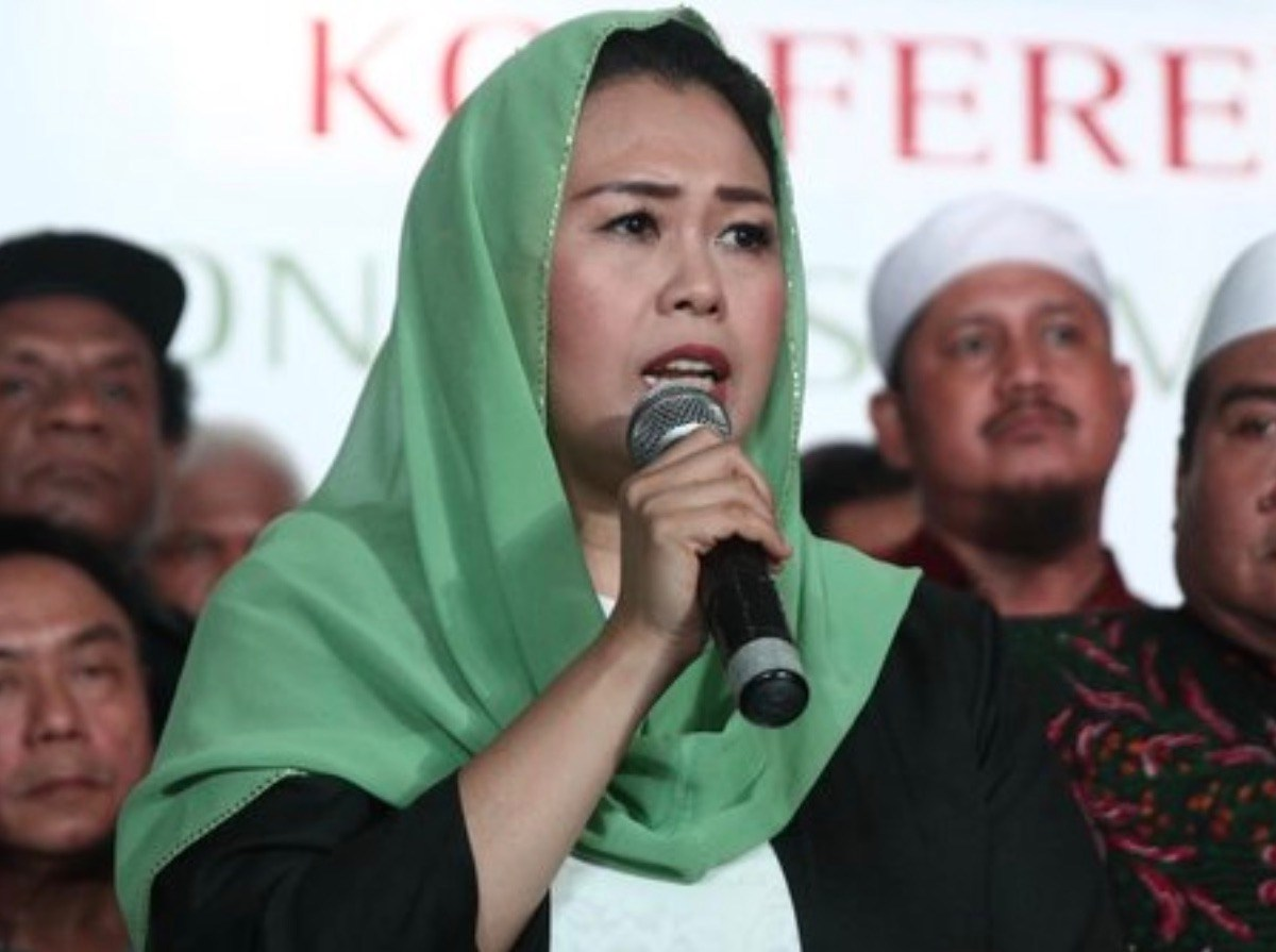 Yenny Wahid is a voice of moderation amid a rising tide of Islamic intolerance in Indonesia. Photo: Youtube