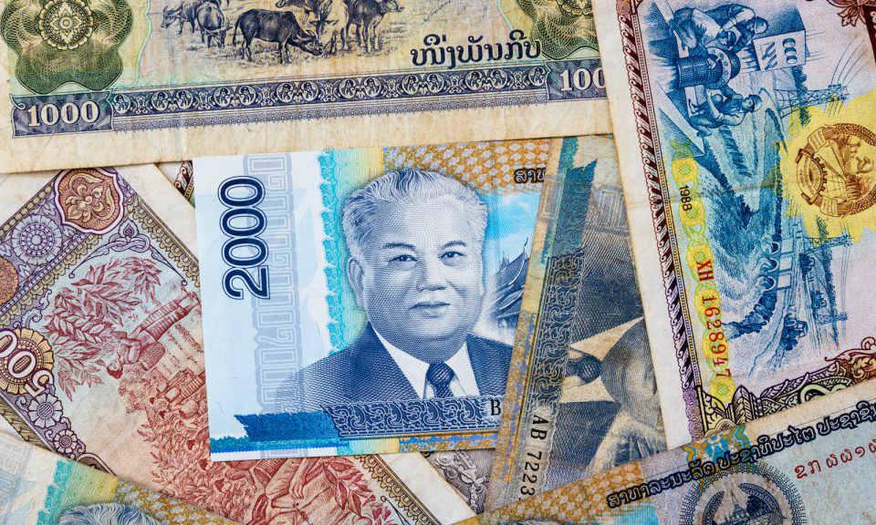 老撾基普鈔票拼貼圖像。相片:iStock / Getty Images