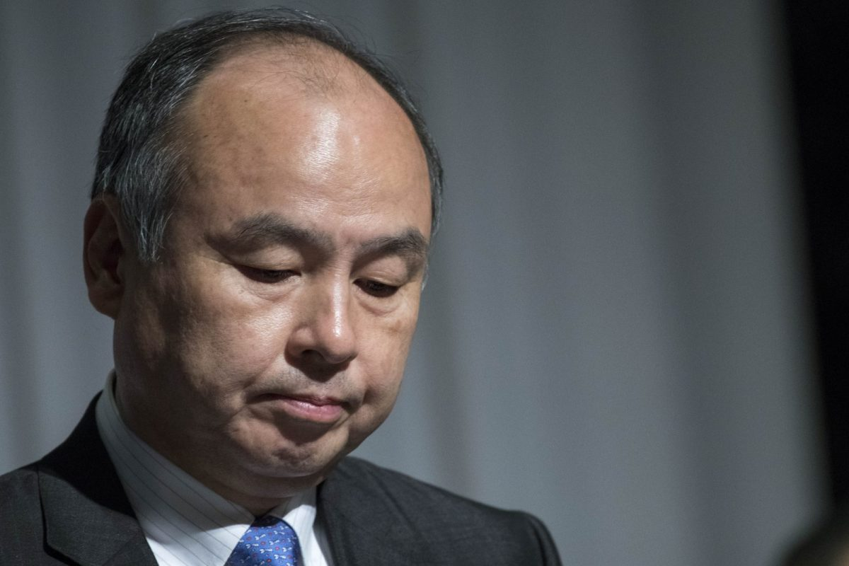 SoftBank Group Corp Chairman and CEO Masayoshi Son at a news conference in Tokyo November 5, 2018. Photo: AFP/Alessandro Di Ciommo/NurPhoto