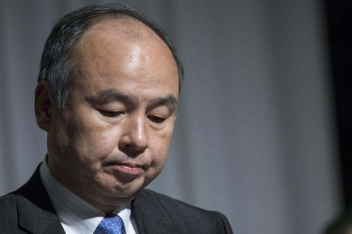 SoftBank Group Corp Chairman and CEO Masayoshi Son at a news conference in Tokyo November 5, 2018. Photo: AFP/Alessandro Di Ciommo/NurPhoto