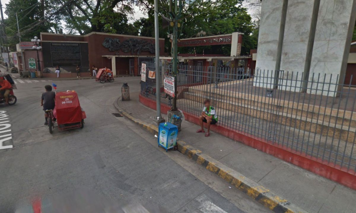 The hostage incident happened near the Polytechnic University of the Philippines in Sta. Mesa, Manila. Photo: Google Maps