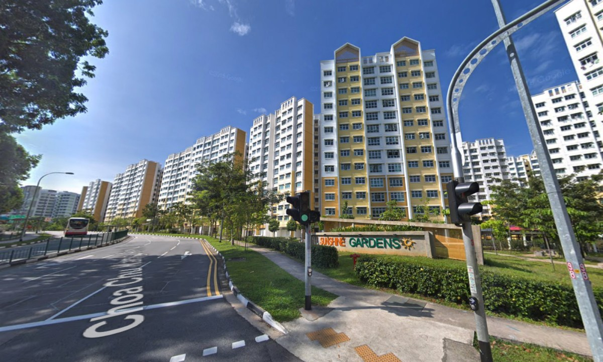 HDB Block 488C is located on Choa Chu Kang Ave 5 in Singapore. Photo: Google Maps