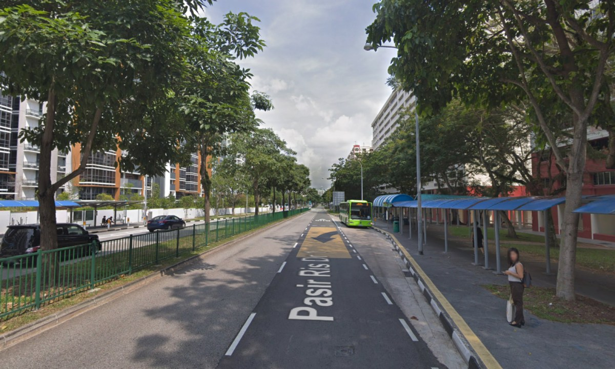 Pasir Ris Drive 1, Singapore. Photo: Google Maps