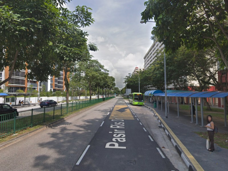 Pasir Ris Drive 1, Singapore. Photo: Google Maps