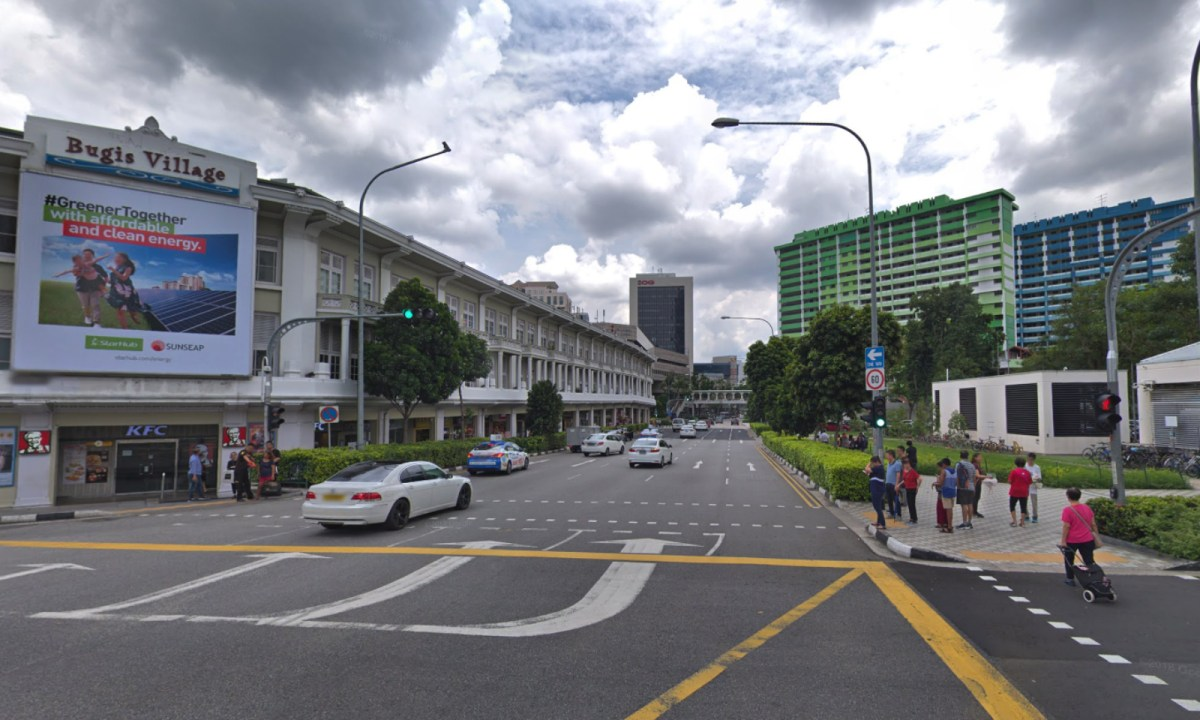 Bugis, Singapore. Photo: Google Maps
