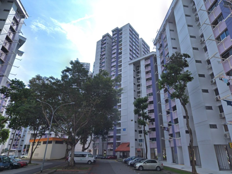 HDB Block 13 on St. George's Road, Singapore. Photo: Google Maps