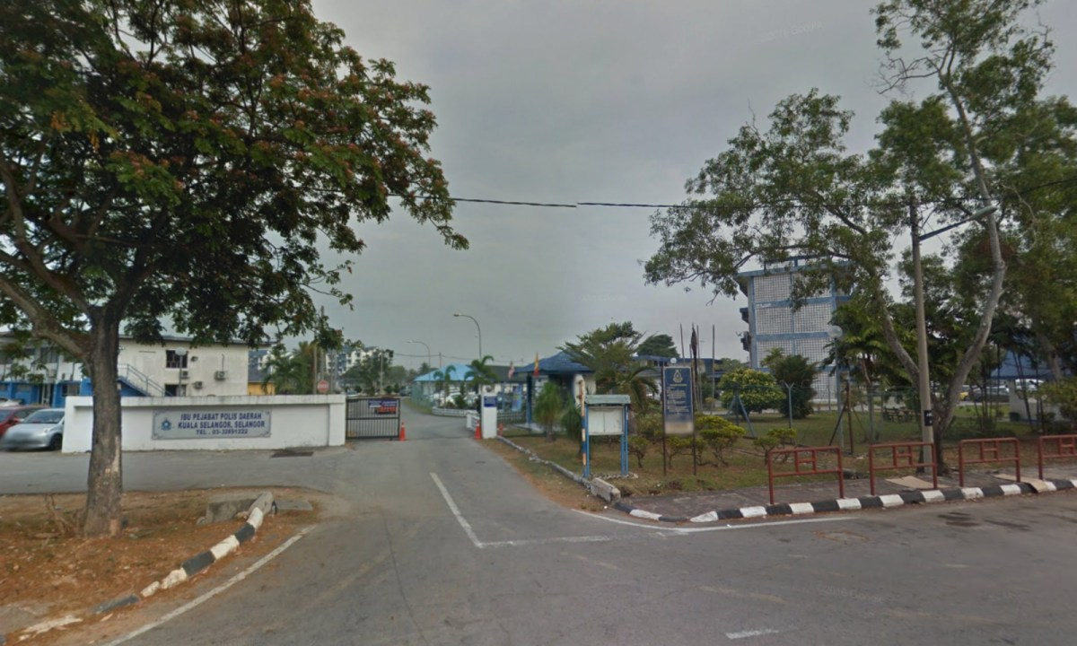 Police headquarters in Kuala Selangor, Malaysia. Photo: Google Maps