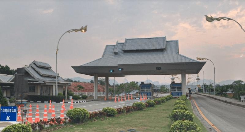 THe Third Thai-Lao Friendship Bridge border. Photo: Google Maps.