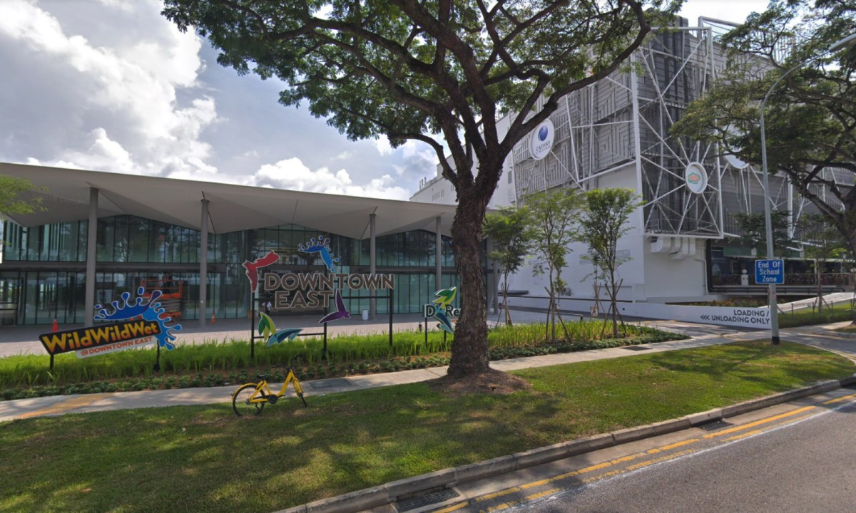 Downtown East shopping mall in Pasir Ris, Singapore. Photo: Google Maps
