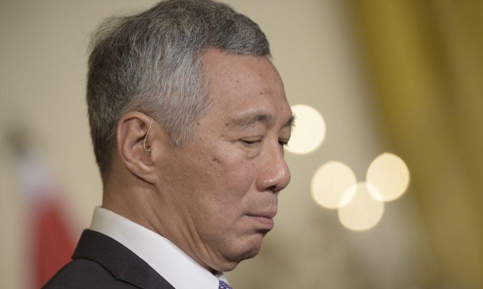 新加坡總理李顯龍。相片:AFP / Brendan Smialowski