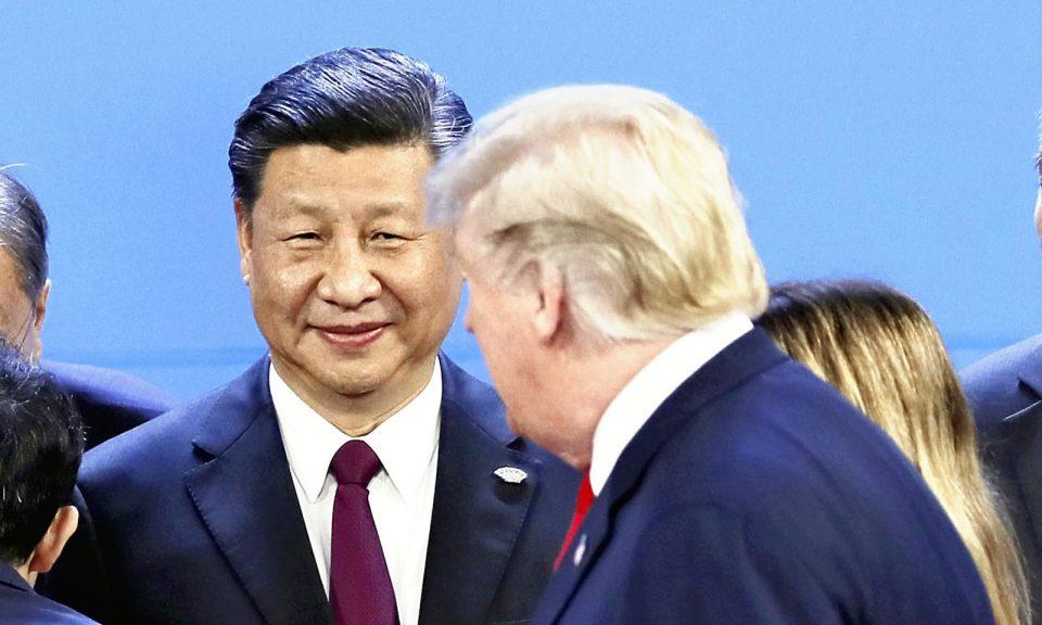 上周末,美國總統特朗普和中國國家主席習近平出席在布宜諾斯艾利斯舉行的G20峰會。相片:AFP / Yomiuri Shimbun