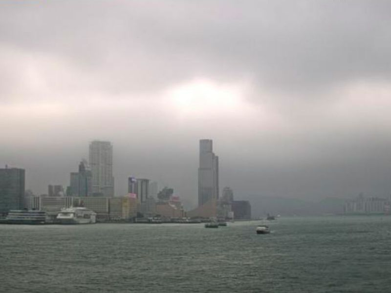 Victoria Harbour, Hong Kong Photo: The Observatory