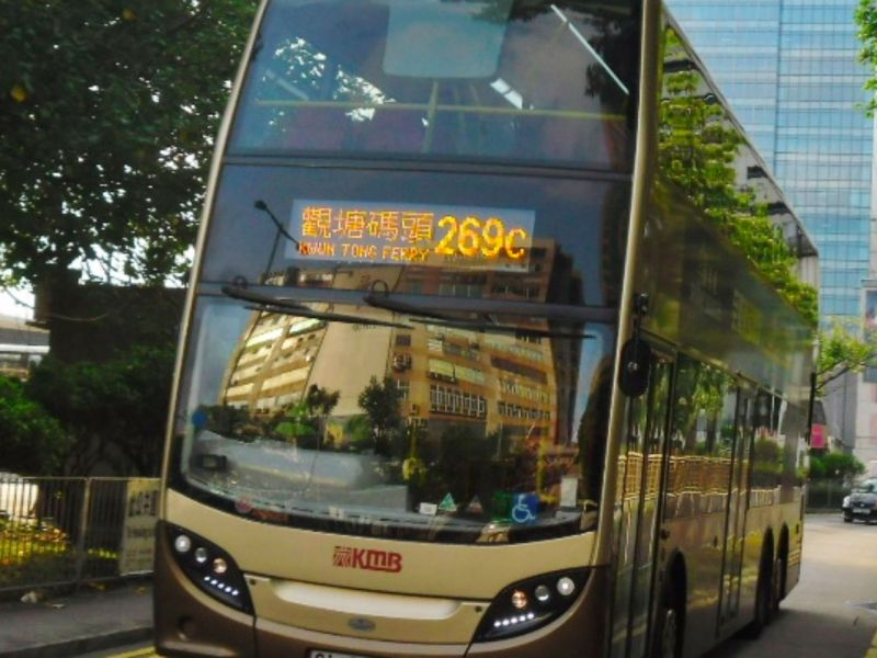 A Hong Kong bus.  Photo: Wikimedia Commons
