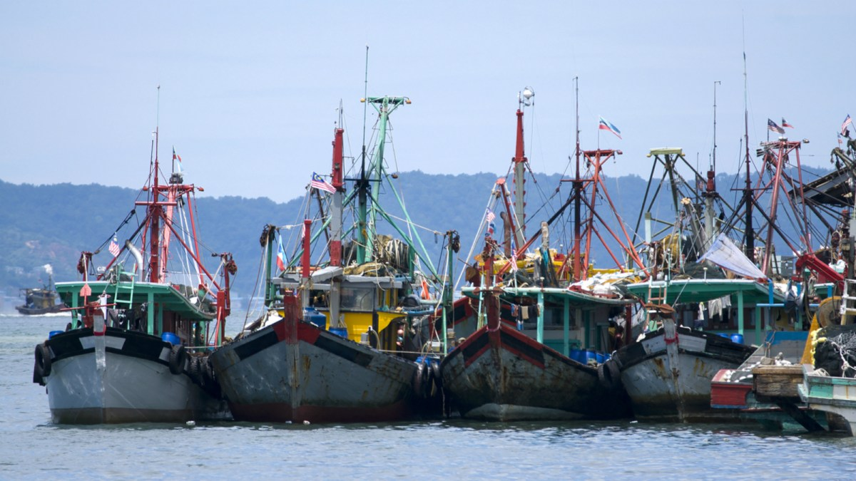 Fishing vessels in Malaysia. Photo: iStock.