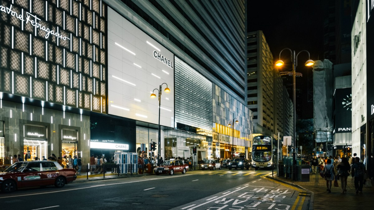 The Chanel store in Hong Kong. Photo: iStock.