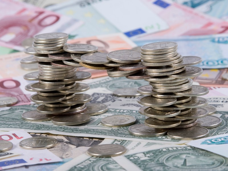 A stablecoins underlying asset would normally be deposited with a trusted bank and if investors are confident they can redeem these coins in exchange for the said currency, and that the issuer has sufficient reserves for all coins in circulation, the price of the stablecoin shouldn't fall below the underlying asset value. Photo: iStock
