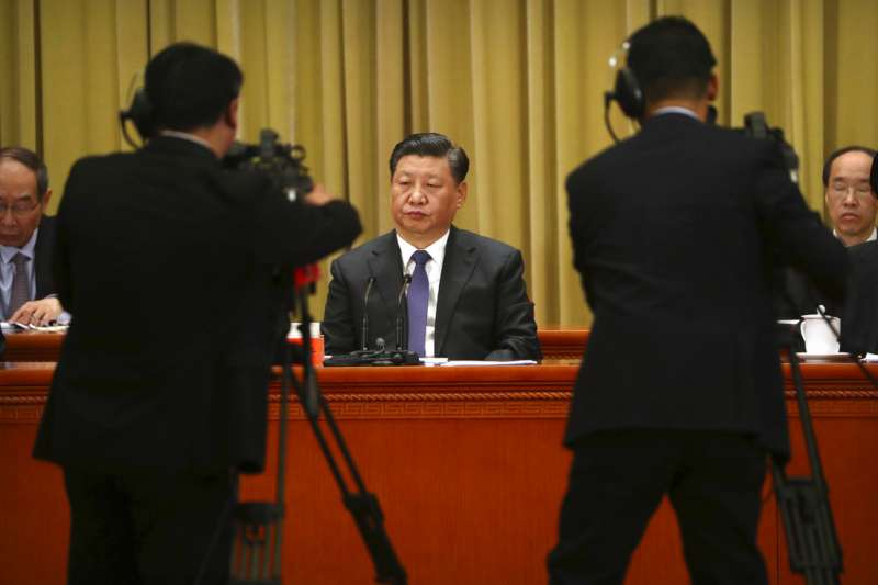 "Chinese President Xi Jinping vowed to realize China's reunification and broached the ""one country, two systems"" framework as a solution for Taiwan during a key speech in early January.  Photo: Twitter via AP"